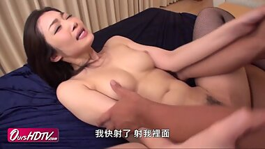 [OURSHDTV][????]Hot Japanese chick Ryu gets threesome creampied uncensored
