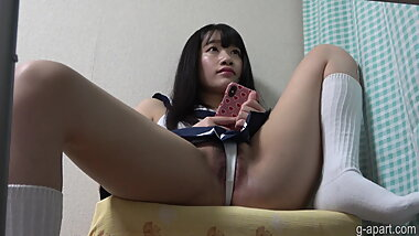 Get a chance to watch the japanese girl's  bite panties