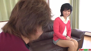 Saki Umita butt fucked during  - More at Japanesemamas.com