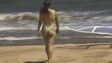 Extreme swimsuit at the beach behind Mie University 4